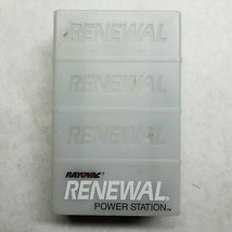 Rayovac Renewal Power Station PS1 Rechargeable Battery Charger AA/AAA Alkaline N - $10.79