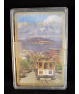 Vintage PLAYING CARDS NOS San Francisco Trolley Scene NEW Sealed Deck - $9.89