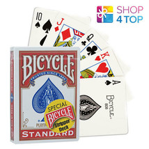 Bicycle Rider Arrière Stripteaseuse Cartes Pont Magic Tours Playing Poker Rouge - $19.94