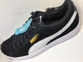 PUMA NIB Suede Lace-up Sneakers - Vikky Classic size 6.5 - $37.12