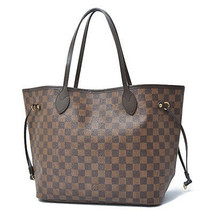 Authentic Louis Vuitton Damier Neverfull MM Tote Bag N41358 Rouge F/S Japan - $1,565.19