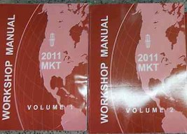 2011 Ford Lincoln MKT Service Repair Shop Manual Set Factory 2 VOLUME SE... - $39.55