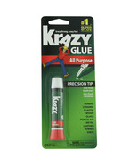 Krazy Glue Super Glue All Purpose Precision Tip 0.07 oz  - $4.65