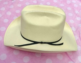 Stetson Western Straw Hat Youth Size - 6 3/4 or Smaller - Beige Color - $24.97