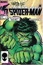 Web of Spider-Man Comic Book #7 Marvel Comics 1985 NEAR MINT NEW UNREAD - $4.99