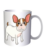 Cute Dog Funny Smile  11oz Mug v493 - $10.83