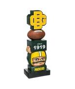 "Green Bay Packers Vintage Team Garden Statue Totem Tiki 16"" Tall - $34.60"