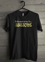All The Rumors Are True I'm Awesome - Custom Men's T-Shirt (3700) - $19.13+