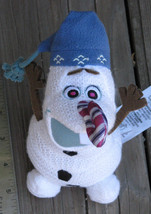 "Disney ~ OLAF'S FROZEN ADVENTURE Stuffed 7"" Doll w/ Candy Cane Nose ~ SH... - $16.99"