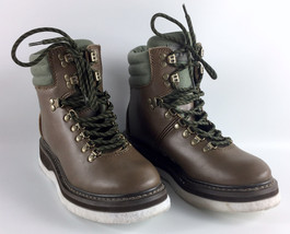 Simms Freestone Wading Boots Brown Leather Fly Fishing Felt Sole Men's S... - $69.29