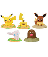 Bandai Pokemon Ana wo Horu Popping Out Mascot Mini Figure Collection - $25.90