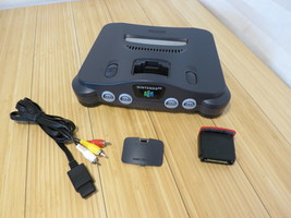 Nintendo 64 n64 system replacement console tested #NUS-001 AV Cable Jump... - $37.04