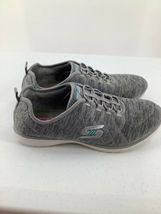 Skechers 9.5 Shoes Air Cooled Memory Foam SN23315 Grey Athletic image 3