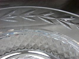 WATERFORD Glandore 8 inch Crystal Serving Salad Bowl Heavy  - $49.99