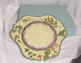 PartyLite Garden Lites Candle Garden Tray Cheery Yellow Green Red P8096 - $14.80