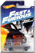 Hot Wheels - '70 Plymouth Road Runner: Fast & Furious Series #3/8 (2017) *Gray* - $3.50
