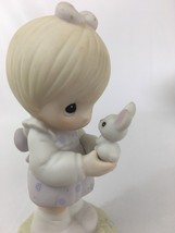 "Vintage 1987 Precious Moments ""Wishing You A Happy Easter"" Figurine #109886 - $10.72"