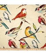 Richloom Fabrics 0284402 Richloom Birdwatcher Meadow Fabric by the Yard - $32.84