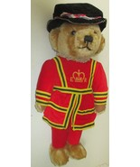 "Vintage MERRYTHOUGHT Mohair Plush BEEFEATER Teddy BEAR 17"", made in England - $89.99"
