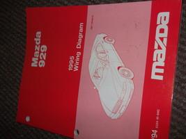 1995 Mazda 929 Electrical Wiring Diagrams Manual FACTORY OEM BOOK 95 - $14.81