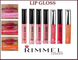 Rimmel Stay Glossy Oh! My Gloss Lip Gloss Choose Color Shiny Effect 6.5ml - $10.49