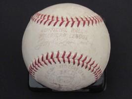 Joe Cronin Mlb Hof Al President 1959-1973 Vintage Reach Game Used Baseball - $197.99