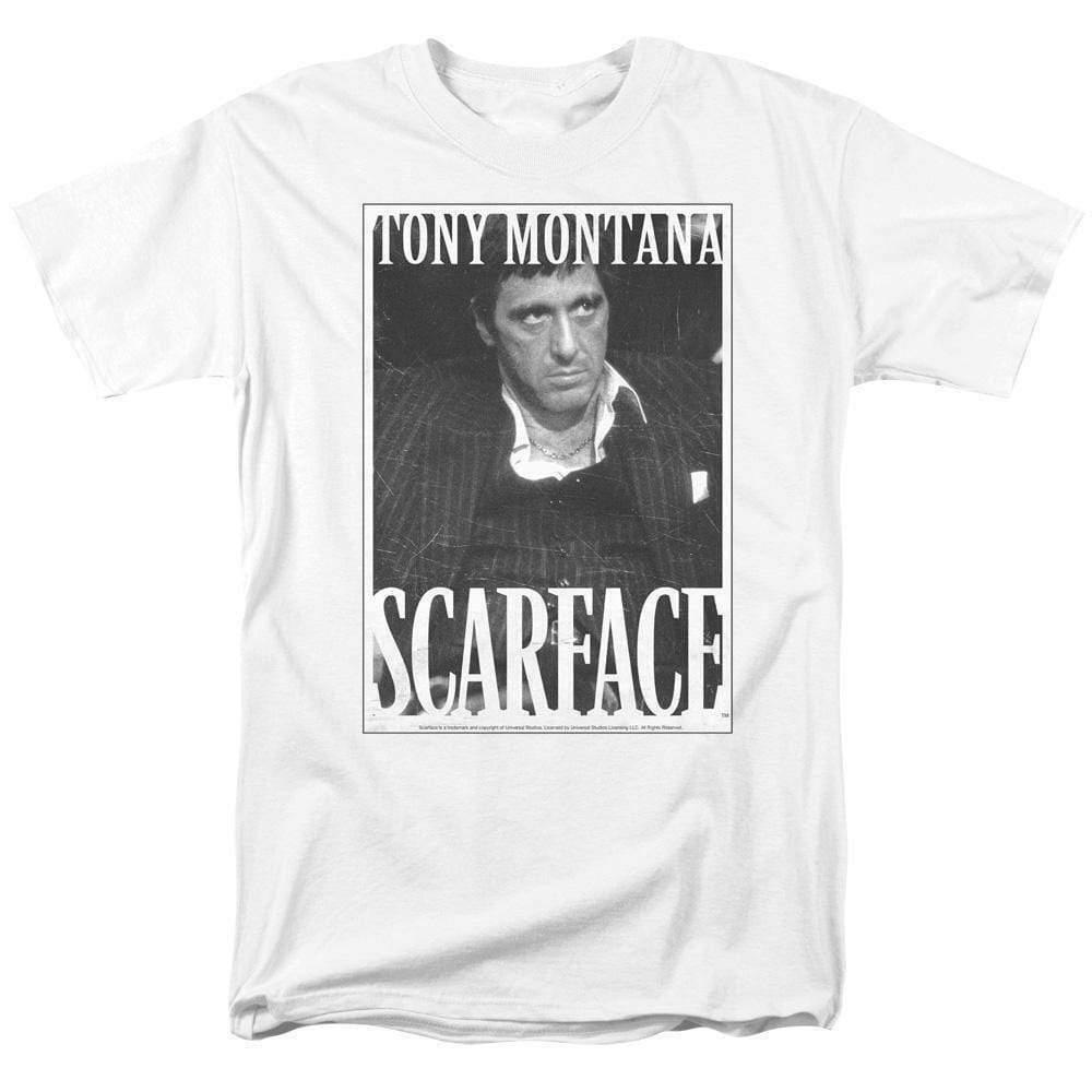 Scarface Al Pacino 80s retro Crime drama graphic T-shirt UNI690
