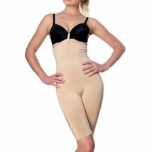 Prima Valentina Women's Seamless Body Shapewear High Waist Long Shorts 78604T image 2