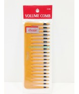 "ANNIE VOLUME COMB #206 6"" LONG 2.5"" WIDE  TOOTH PLASTIC COMB FOR VOLUME - $1.57"