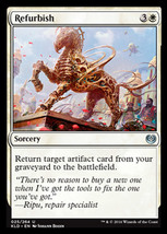 Magic The Gathering-Kaladesh-Refurbish  - $0.15