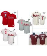 Men's Philadelphia Phillies #3 Bryce Harper Flex Base Series Jersey - $40.99