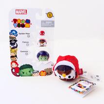 Disney Marvel Tsum Tsum Vinyl Figure 3 Pack & Plush (SpiderMan, Falcon, ... - $8.00