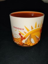 Starbucks Mug 14oz. Phoenix You are Here 2013 Coffee Cup Excellent ORANG... - $7.80