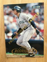 1998 Fleer Tradition Alex Rodriguez #100 PROMO Baseball Card NM Seattle Mariners - $2.69