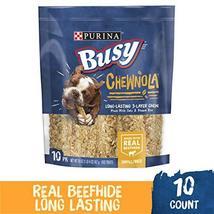 Purina Busy Chewnola Dog Treats - 10 Chewbones - 20 OZ image 2
