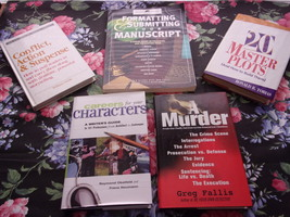 Writers Digest Writing Books, lot of 5 - $49.00