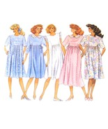 1980s Vintage Butterick Sewing Pattern 6251 Flared Maternity Dress 14 FF - $6.95