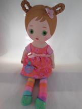 "Zapf Creation Mooshka 15"" All cloth Little Girl Doll - $9.94"