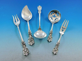 Francis I Reed & Barton New Mark Sterling Silver Essential Serving Set S... - $195.00