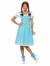 Smiffys Kansas Bauernmädchen Dorothy Kleid Erwachsene Damen Halloween Ko... - $29.51