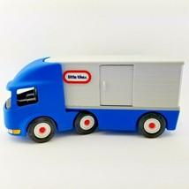 "Ride On Toy 23"" Semi Truck Blue Little Tikes Vtg Child Kid Sit Roll Big Rig Rare - $89.07"