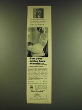 1966 Flexnet BackAid Girdle Ad - Ease your aching back beautifully - $14.99