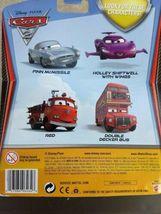 2010 Mattel sealed Disney Cars Pixar Double Decker Deluxe Bus metal toy figure  image 6