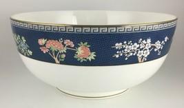 "Wedgwood Blue Siam Salad serving bowl 8 "" - $60.00"