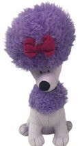 "Kohls Cares Cleo The Purple Poodle 11"" Plush Stuffed Clifford The Big Red Dog - $12.86"