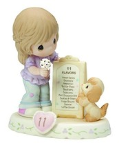 Precious Moments,  Growing In Grace, Age 11, Bisque Porcelain Figurine, ... - $56.09
