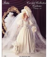 1904 Gibson Girl Bride Dress fits Barbie Paradise #19 Crochet PATTERN LEAFLET - $7.17