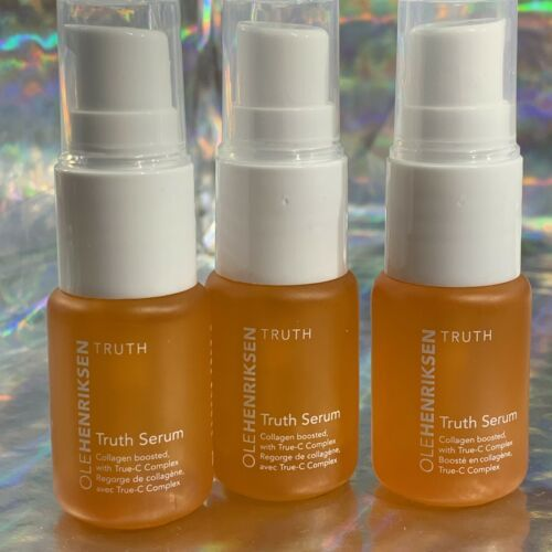 3x Ole Henriksen Truth Serum 7mL = 21mL Total (Almost FULL Size:) Collagen Boost