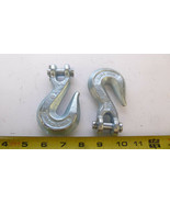 """Security Chain Co. H7626-0611 Clevis Grab Hooks 3/8"""" 5400 lbs. PACK OF 2... - $19.31"""