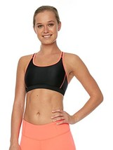BREATHE BY BODY GLOVE Women's Good To Go Sport Bra, Black, Medium - $36.94